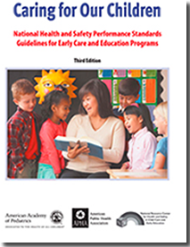 Cover of Caring for Our Children Performance Standards.