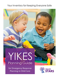 Cover of Yikes Planning Guide for Emergencies.