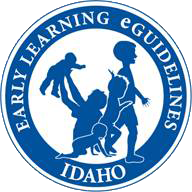 Idaho Early Learning eGuidelines logo.