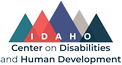 Logo: University of Idaho Center on Disabilities and Human Development.